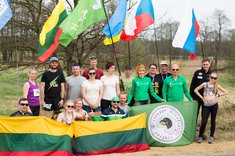 Sleddog Sports delegation from Lithuania